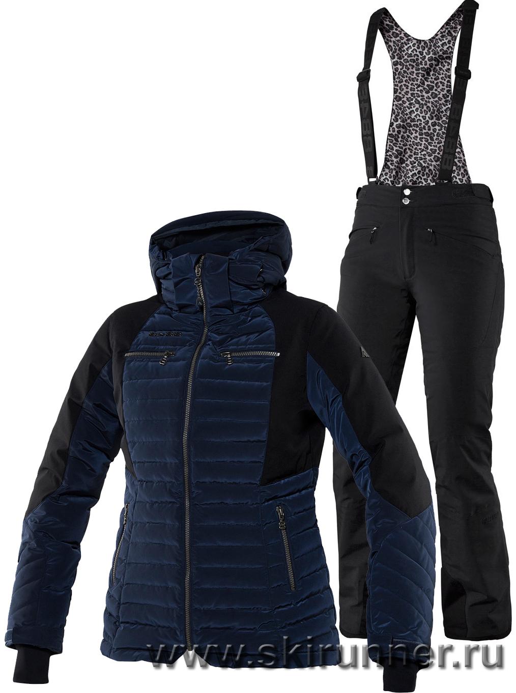 Теплые женские горнолыжные костюмы