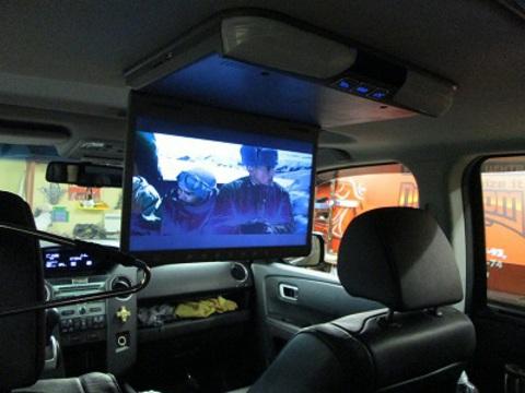 Автомобильный потолочный монитор AVIS Electronics AVS1520T (черный)