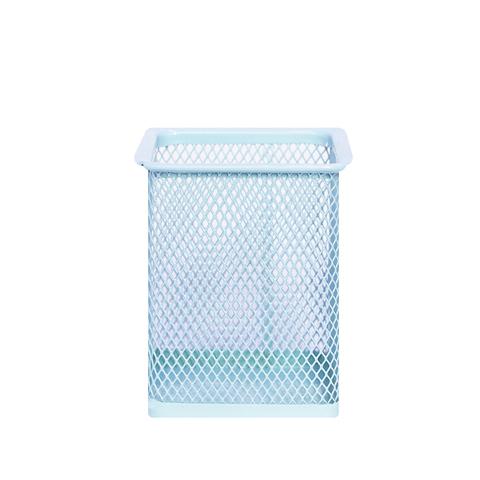 Подставка для канцелярии Metallic Square Blue