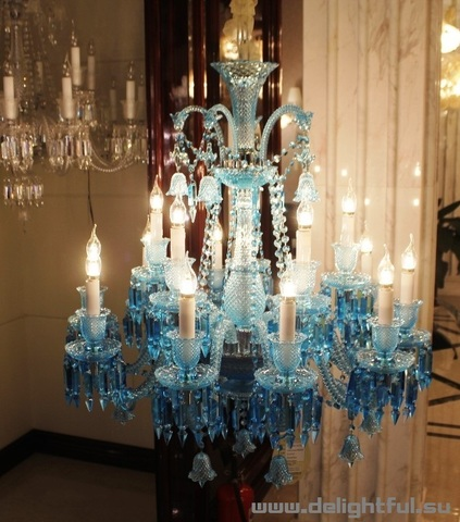 replica  ZÉNITH CHANDELIER ( 12 lights + BLUE  )