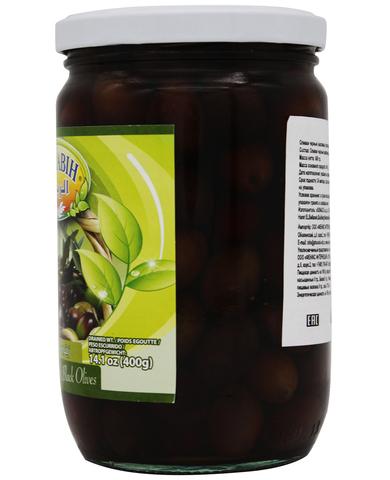 Оливки черные с косточкой, AlRabih, 600 г