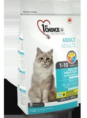 "First (1st) Choice HEALTHY SKIN & COAT для кошек ""Здоровая кожа и шерсть"""