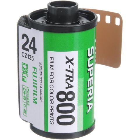Фотопленка Fujifilm Superia X-TRA 800/135-36