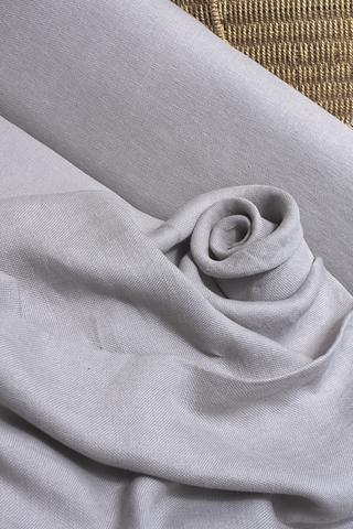 Интерьерная льняная ткань цвет ЛАВАНДА