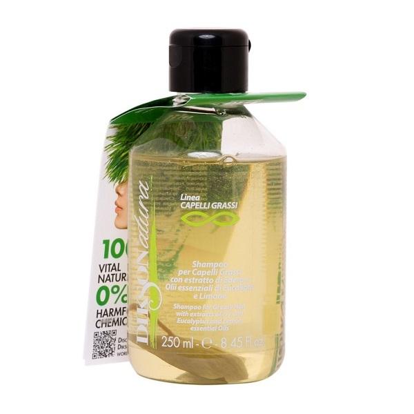 Шампунь для жирных волос с лимоном Dikson Natura Shampoo Cap Grassi 250мл