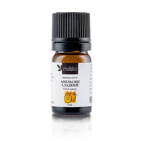 Эфирное масло Апельсин сладкий Mi&Ko, 5 мл