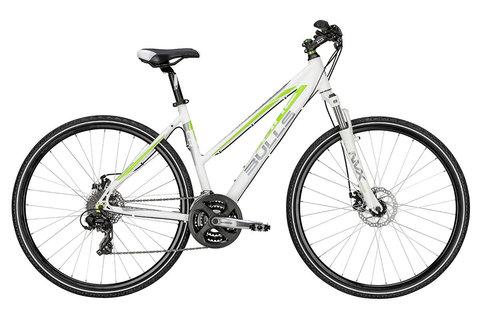 Bulls Cross Bike 1 Lady (2015)белый с зеленым