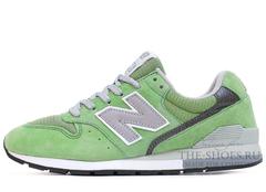 Кроссовки Женские New Balance 996 Light Green Grey