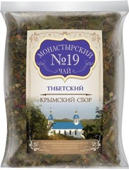 Чай Монастырский №19 тибетский, 100 гр. (Крымский сбор)