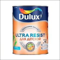 Краска для Детской Dulux Ultra Resist BW (Белый)