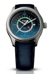 Наручные часы Traser P59 Aurora GMT Blue 107035 (кожа)