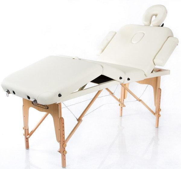 Массажный стол RESTPRO VIP 4 Cream (EU) фото