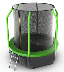Батут EVO Jump Cosmo 6ft (Green)+нижняя сеть