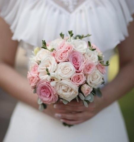 Свадебный букет #435