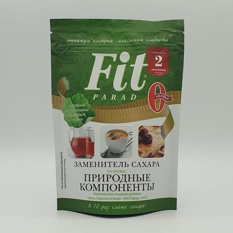 Заменитель сахара на основе эритрита №10 ФИТПАРАД, 200 гр