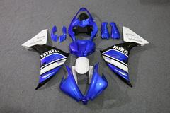 Комплект пластика для мотоцикла Yamaha YZF-R1 12-14 Сине-черно-белый (заводской)