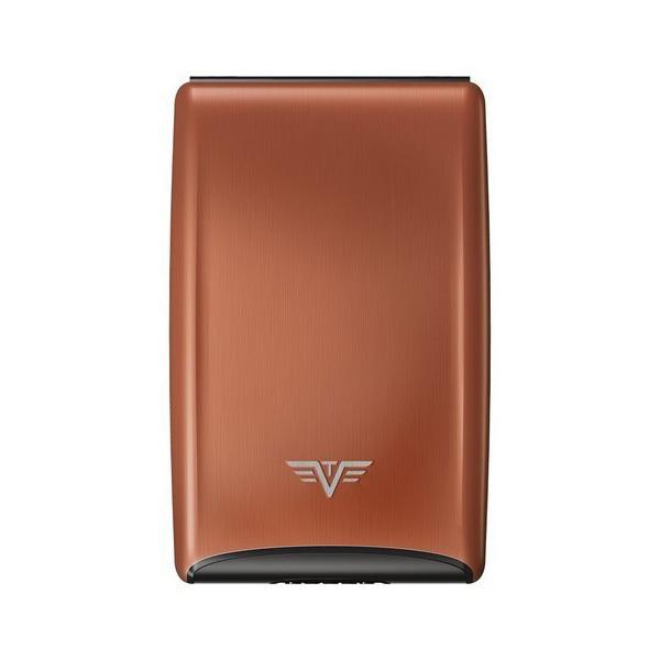 Визитница c защитой Tru Virtu RAZOR, цвет кофейный , 104*68*20мм
