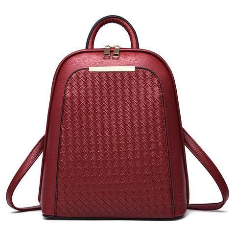 Женский рюкзак 7288 Red