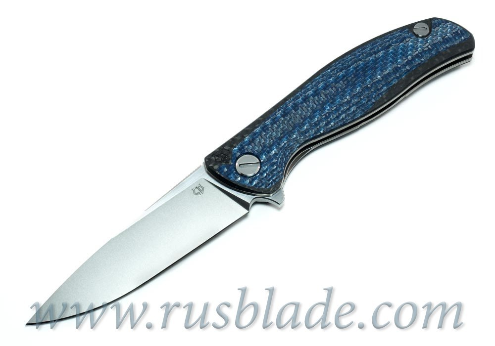 CUSTOM Shirogorov F3 Blue CF S90V Custom Division