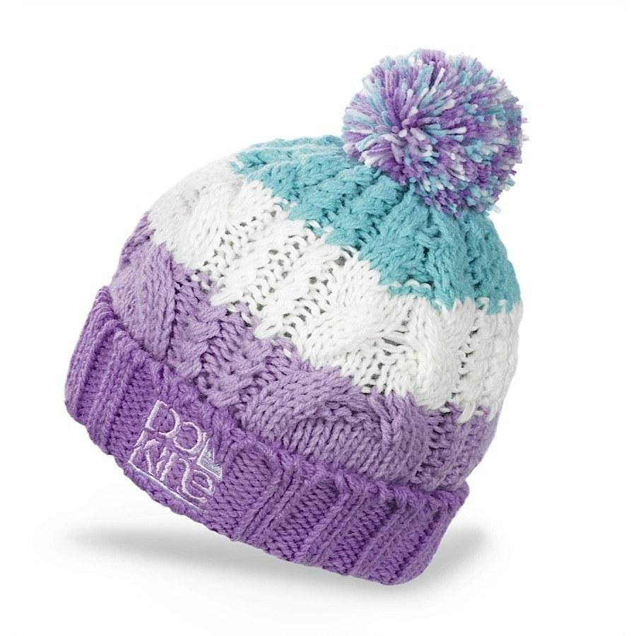Детские шапки Шапка с помпоном Dakine Chance Purple 2.jpg