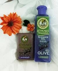 Подарочный набор оливковой косметики Лаванда