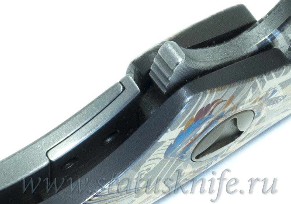 Нож Microtech DOC Custom Dragon Spine One-Off