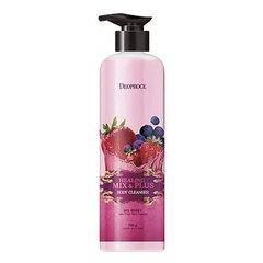 Deoproce Healing Mix & Plus Body Cleanser Mix Berry - Гель для душа ягодный микс