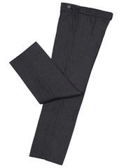 057 брюки для мальчиков, темно-серые