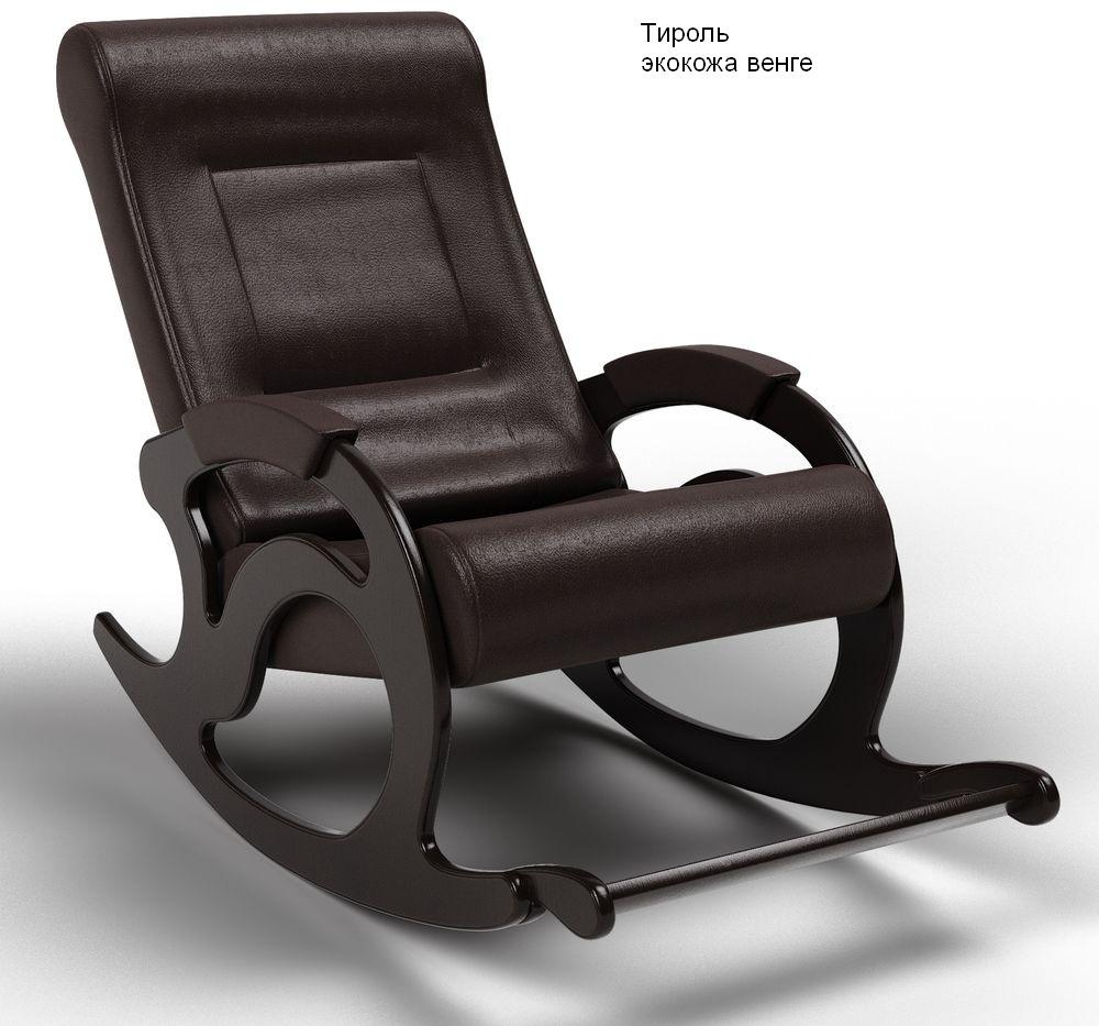 Кресла качалки Кресло-качалка Тироль Экокожа тироль_венге.jpg