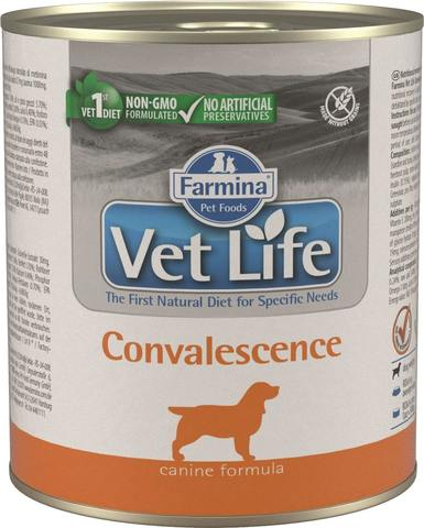 Беззерновые консервы Farmina Vet Life Natural Diet Dog Convalescence