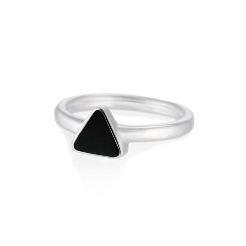 Кольцо MAASAW - Черный оникс
