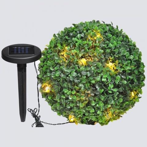 "Светильник на солнечной батарее ""Самшит"", 24 белый LED, D 270мм , E5208 (Feron)"