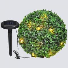 Светильник на солнечной батарее «Самшит», 24 белый LED, D 270мм , E5208 (Feron)