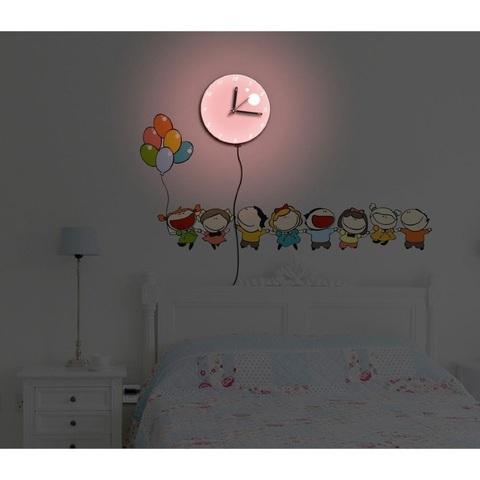 Светильник-часы 8*0,5W LEDs 5730smd с USB-проводом (5V адаптор входит в комплект); 1*AA батарея (в комплект не входит), NL75 (Feron)