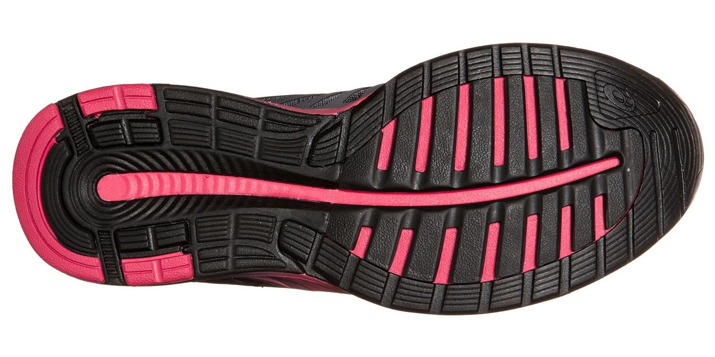 Женские кроссовки для бега Asics FuzeX (T689N 9721) серые фото
