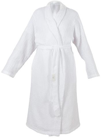 Элитный халат вафельный Pousada 100 белый от Abyss & Habidecor