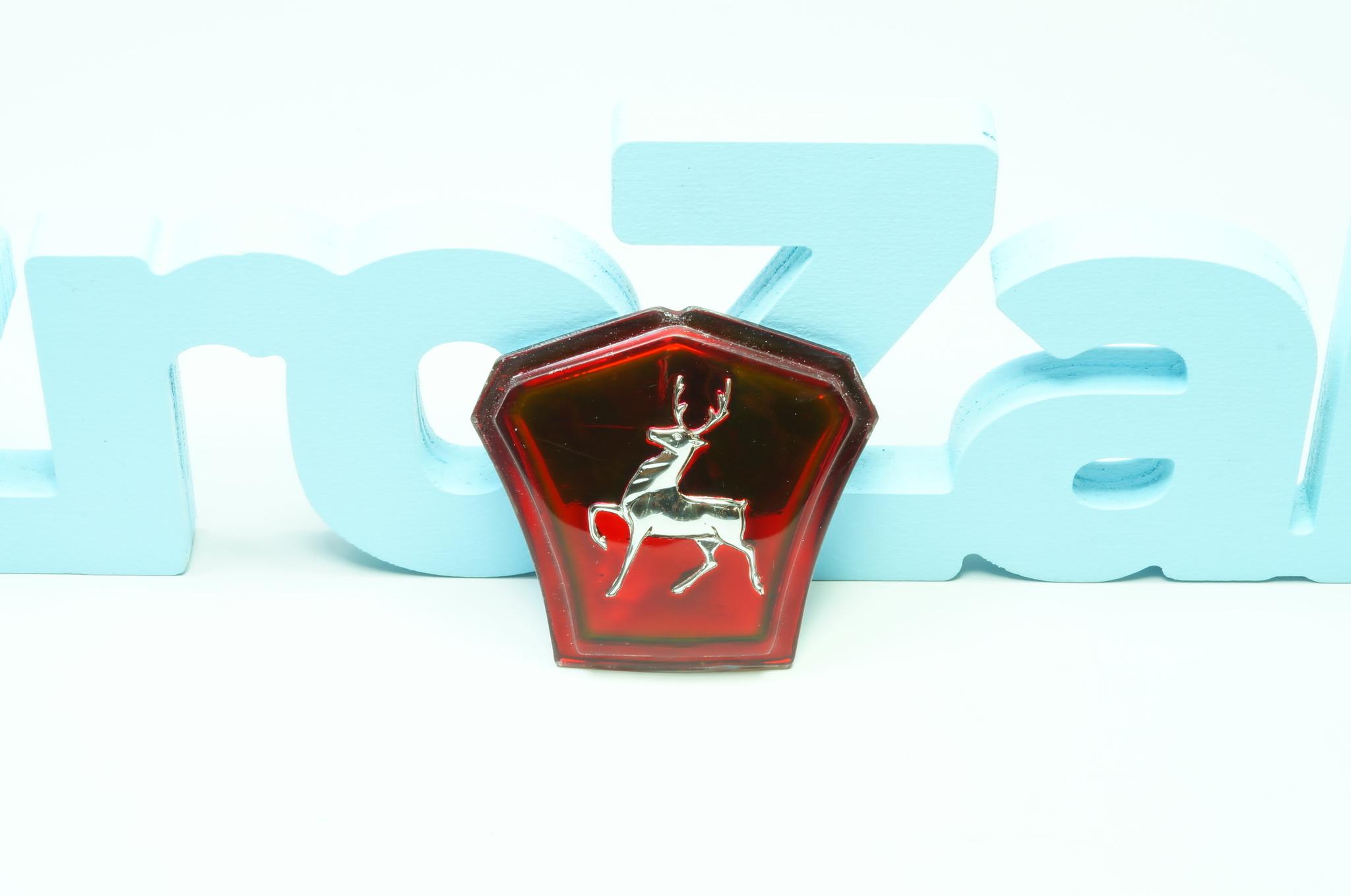 Эмблема капота Газ 21 2 серии 1960-62