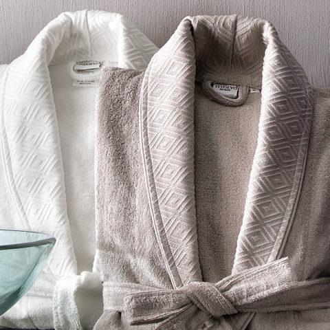 Мужской халат махровый купить IRIS BAMBOO JAQUARD Tivolyo Home