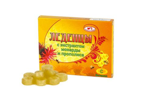 Леденцы с экстрактом монарды без сахара