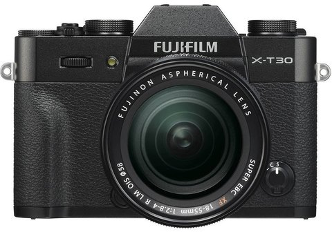 Fujifilm X-T30 Kit XF 18-55mm F2.8-4 R LM OIS Black