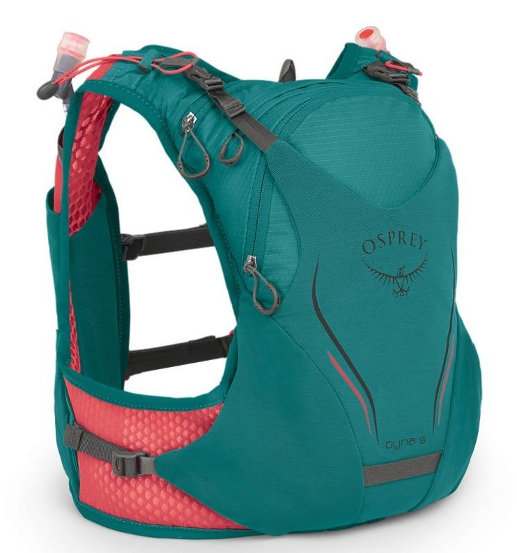 Рюкзаки для бега Рюкзак для бега Osprey Dyna 6 Reef Teal Dyna_6_S19_Side_Reef_Teal_web.jpg