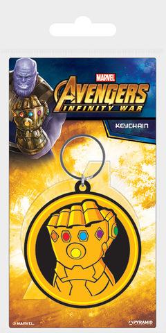 Брелок силиконовый Avengers: Infinity War (Infinity Gauntlet)