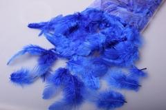 Перья синие в пакете 10 гр.