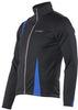 NORDSKI ACTIVE мужская разминочная куртка черный-синий