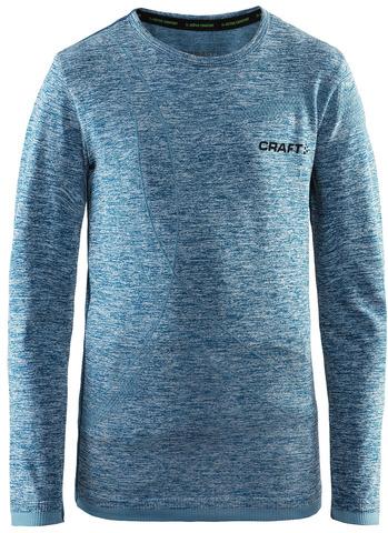 Термобелье рубашка детская Craft Comfort (blue)