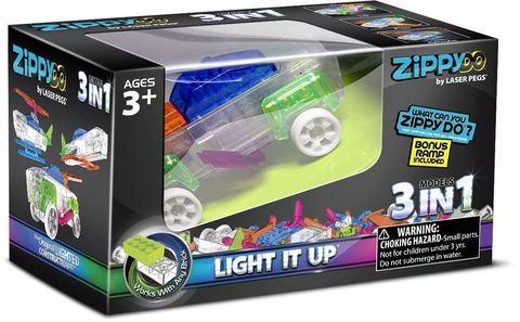 Конструктор Zippy Do 3 в 1 от Laser Pegs (ZD001)