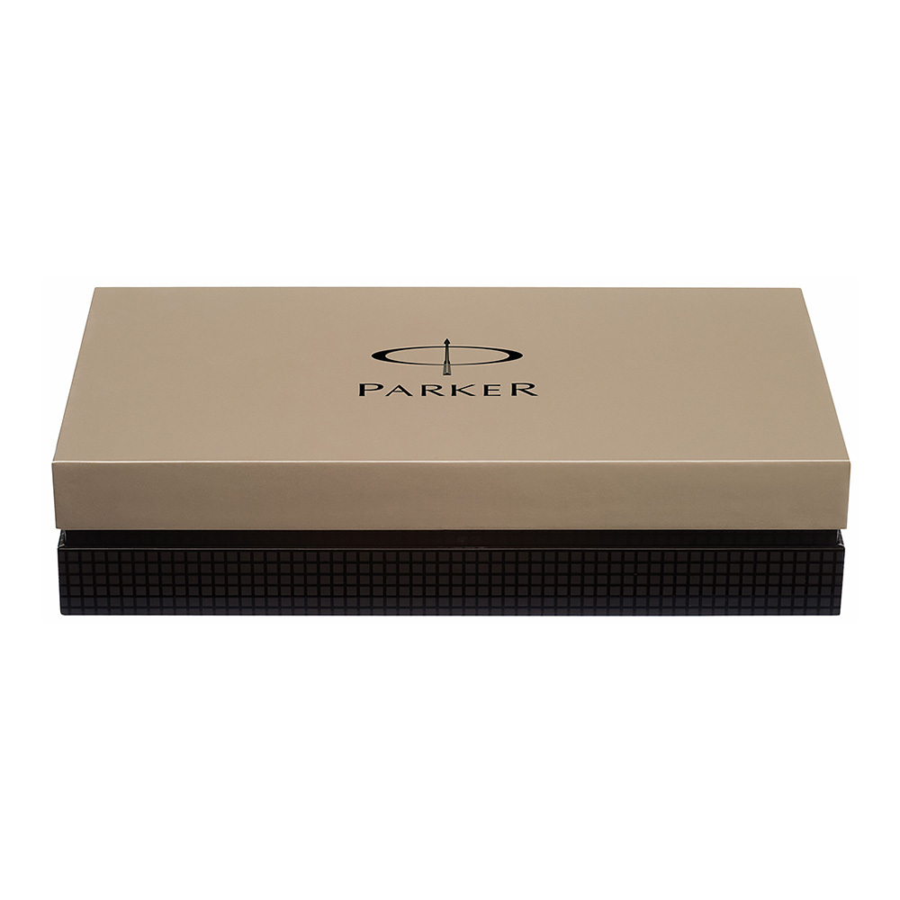 Parker Duofold - Black GT, ручка-роллер, F
