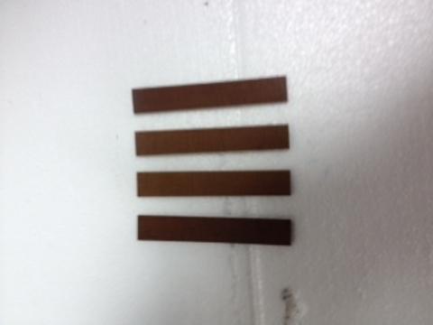 Комплект лопаток к вакуум. насосу НВ-4 для АД-02