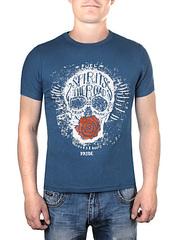 17603-1 футболка мужская, темно-серая