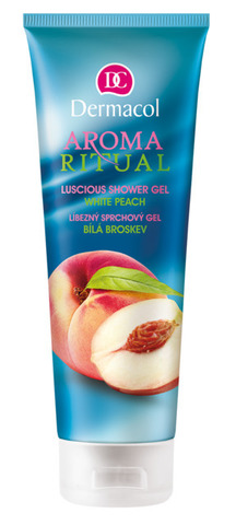 Dermacol Aroma ritual shower gel white peach Гель-антистресс для душа